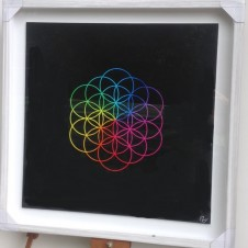 Flower of LifeHigh Quality Digital Print   Signed by Pilar Zeta   50 x 50 cm (19.6 x 19.6 inches)   Limited edition of 250UNFRAMED   Price on application For more information please email: art@albumartists.co.uk