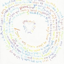 Hymn for the Weekend - Original LyricsHandwritten lyric by Chris Martin The Actual lyric used on the AHFOD album art 29.7 x 42.0cm, (11.69 x 16.53 inches) Unique Sold